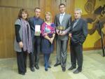 Spoločná s generálnym sekretárom SAUŠ Mikulášom Ortutayom, Helenou Malgotovou a Dankou Mašlejovou